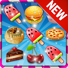Food Match 3 Cookie Rush 2019  Puzzle Free Games icon