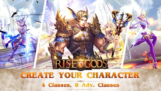 Rise of Gods - A saga of power and glory Screenshot