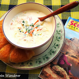 Cullen Skink (Scottish Fish Soup) and Glasgow.