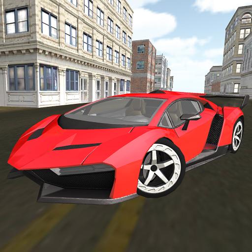 肌肉車駕駛城馬 賽車遊戲 App LOGO-APP試玩