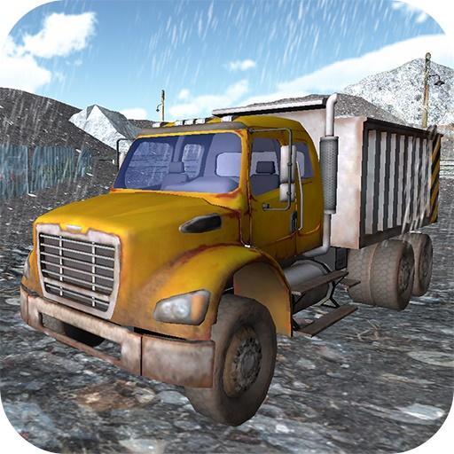Dump Truck Rainstorm Delivery