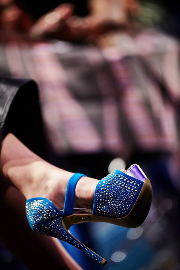 Shoes by Javier Lima - Artistic Objects Clothing & Accessories ( shoes. blue, clothes )