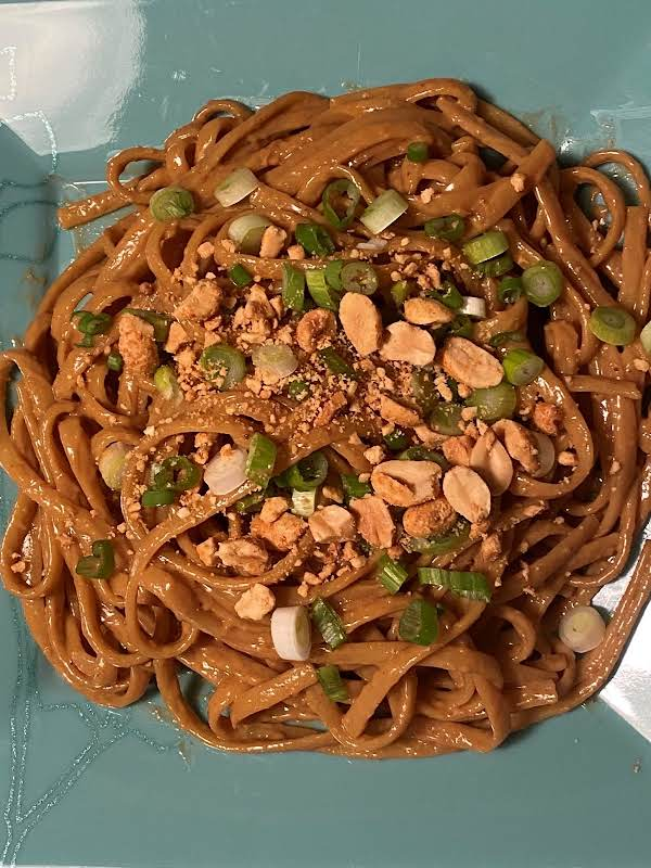 Sweet And Spicy Peanut Noodles (for Two)