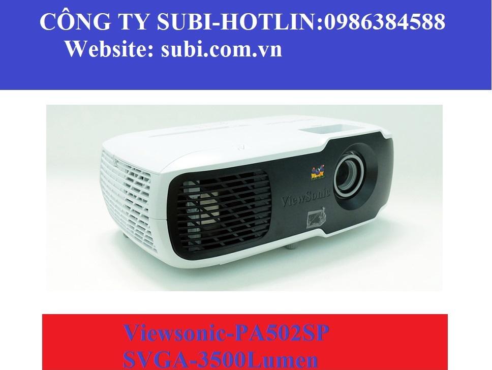 Tinh tế, đa năng và mạnh mẽ hơn máy chiếu ViewSonic PA502SP