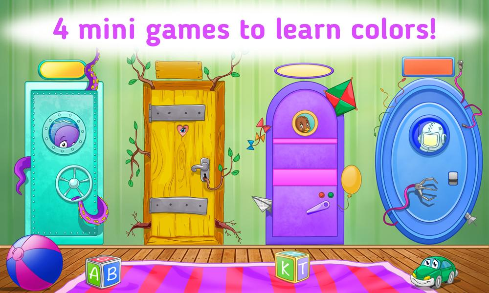Learning Colors for Toddlers- screenshot