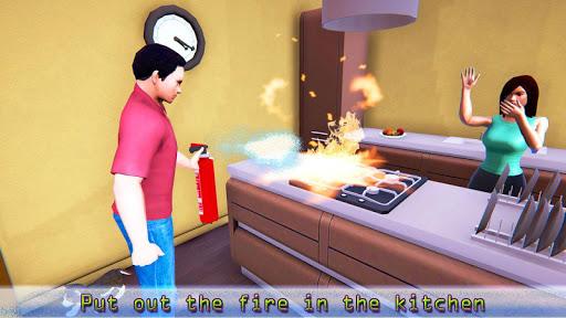 Virtual Life Real Dad Happy Family 1.0 screenshots 2