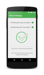 Hide Pictures for WhatsApp - náhled