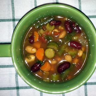 Pearl Barley Fresh Minestrone Soup