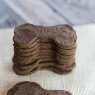 Mint Buckwheat Dog Biscuits