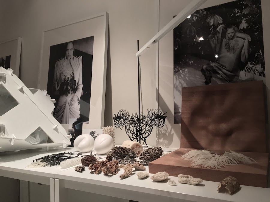 3D Printed Pieces from Julia's Studio (Picture by Julia Koerner)