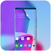 Theme for Elephone A4 Pro art colorful wallpaper icon