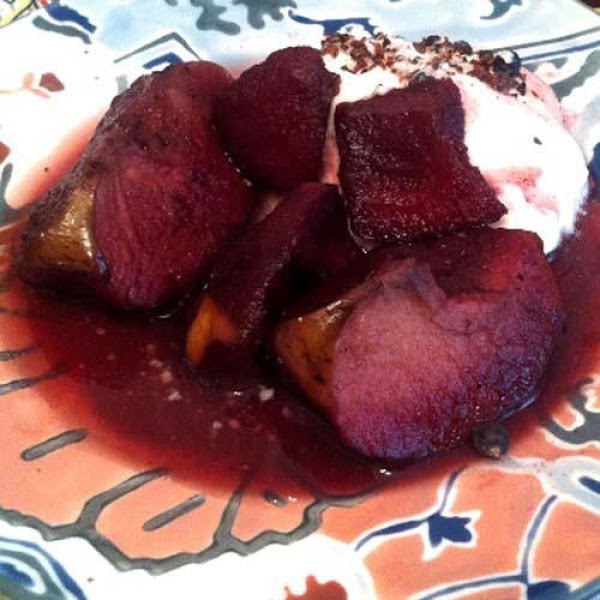 Poached Apples With Juniper Berries & Spices Recipe