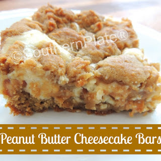 Peanut Butter Cheesecake Bars.