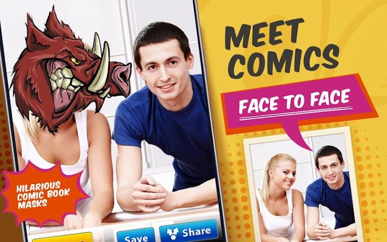 Comics Mask Pro Screenshot