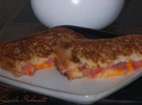 Fresh Golden Egg Grilled Capicola  Pepperoni Cheese Sandwich