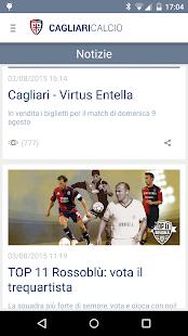 Cagliari Calcio- screenshot thumbnail