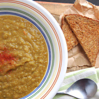 Best Split Pea Soup Ever. Slow Cooker Style and Filled with Curry Flavor.