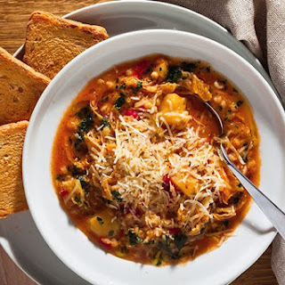 Hearty Country-Style Minestrone Soup.