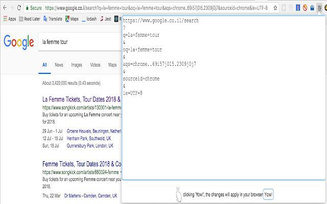 URL Rabbit - Hop Over URL Fragments
