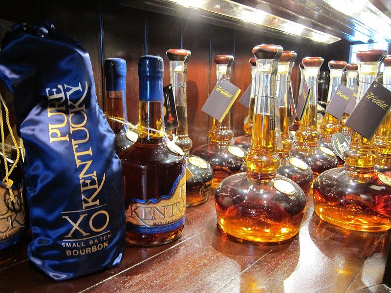 Photo: Pure Kentucky XO Small Batch Bourbon and Willett Pot Still Bourbon fromKentucky Bourbon Distillers  Photo: Geoff Kleinman: http://www.DrinkSpirits.com