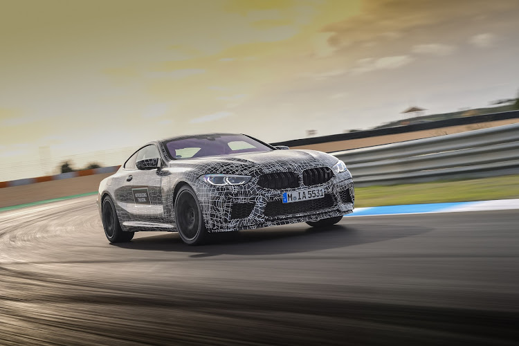 BMW M8 will have all-wheel drive and 441kW. Picture: SUPPLIED
