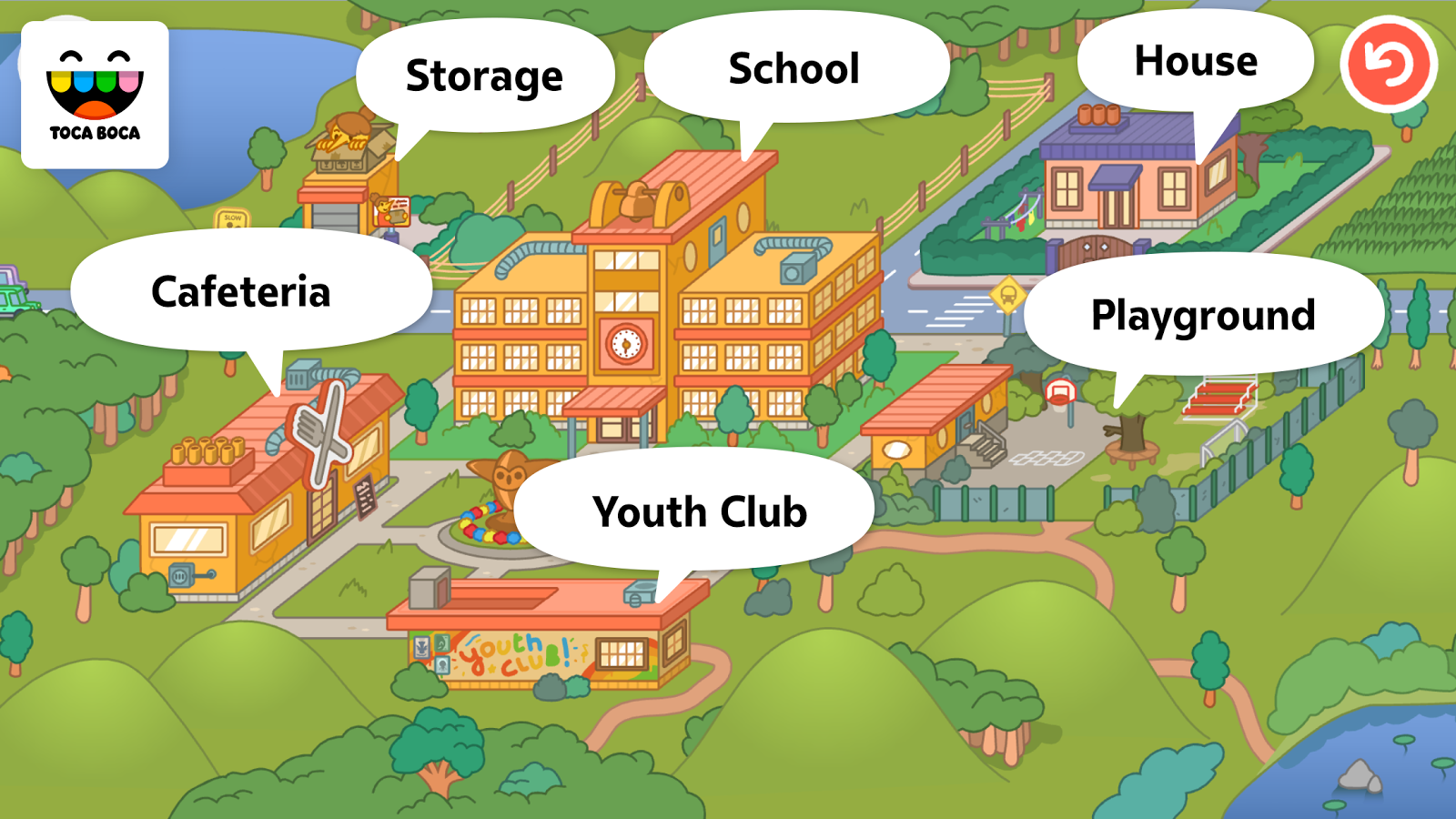Toca Life: School- screenshot