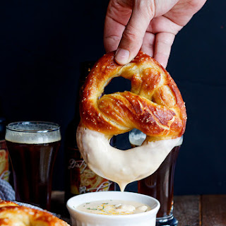Beer Soft Pretzels.