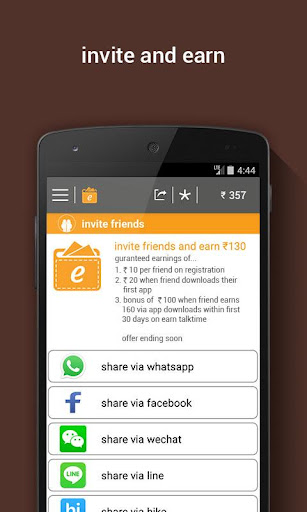Earn Talktime -Recharge & more screenshot 3