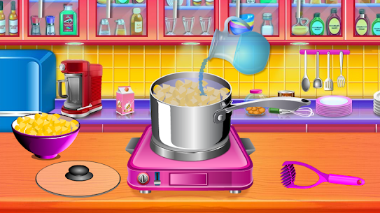 Make Salmon Fish Cakes Recipe – Cooking game 1.1 Mod + Data Download 2