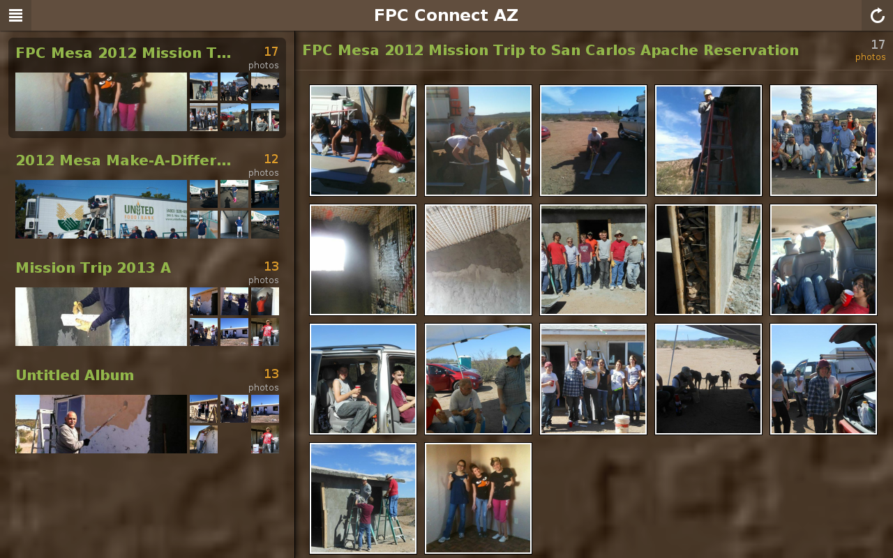 FPC Connect- screenshot
