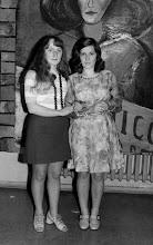 Photo: Luty 1973 - bal maskowy, z prawej - G. Łukasz