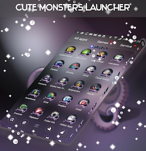 Cute Monsters Launcher - náhled