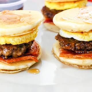 Pancake Breakfast Sliders.
