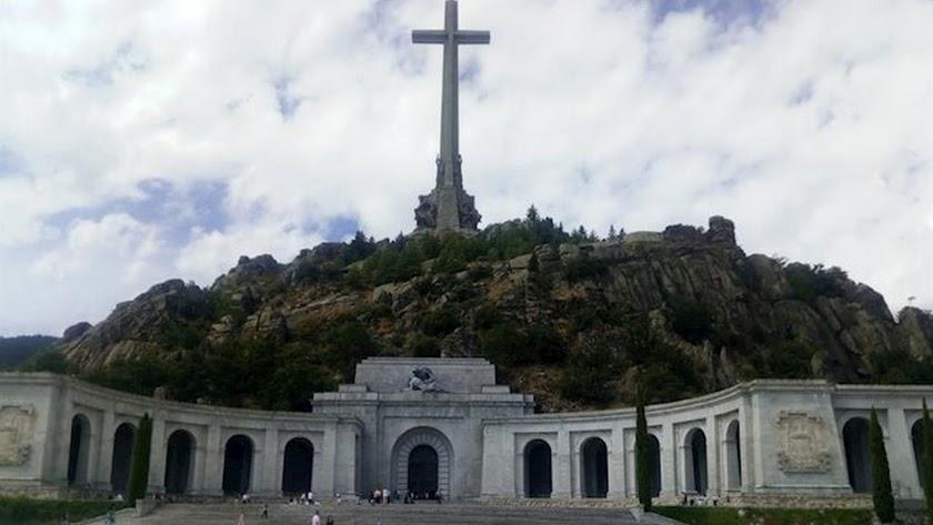 Imagen de archivo del Valle de los Caidos.