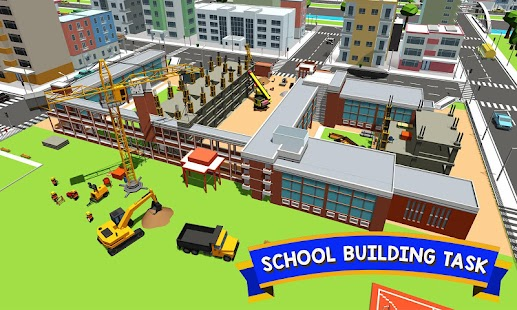 city builder high school construction games android apps on google play. Black Bedroom Furniture Sets. Home Design Ideas