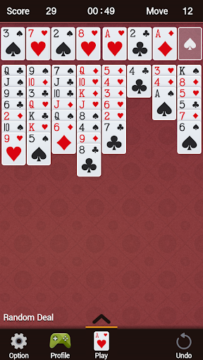 FreeCell 1.33 screenshots 5