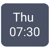 Next Alarm Widget for MIUI