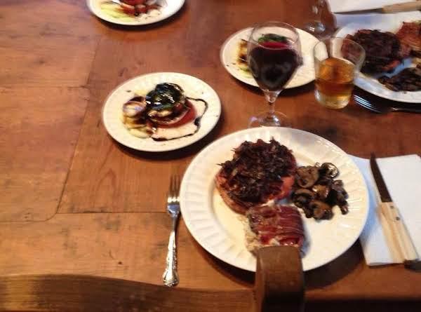 Pork Tenderloin Medallions With Caramelized Onions Recipe