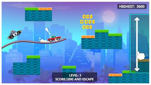 Sky Escape - Car Chase Screenshot