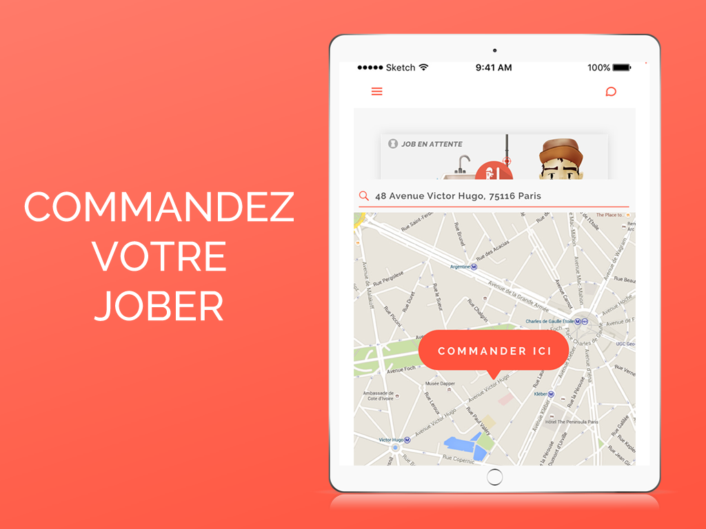 SOS Jober - Aide & Services- screenshot