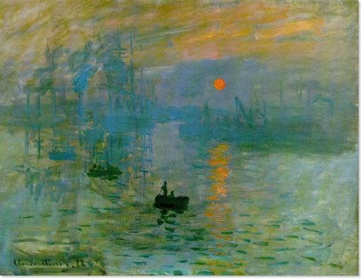 Claude Monet,İzlenim: Gün doğumu