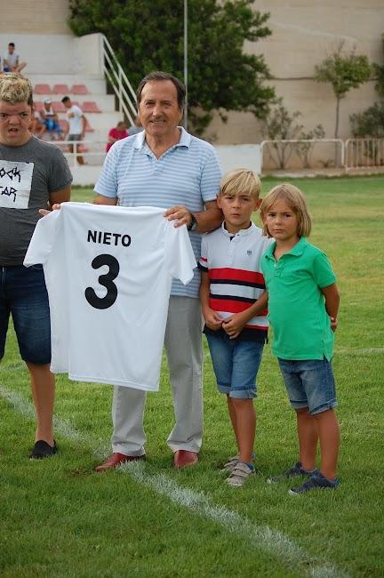 Nieto junto a Edu y sus nietos Miguelito y Carlitos_