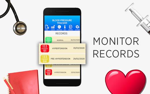 Blood Pressure Diary : BP Records History Tracker  screenshots 2