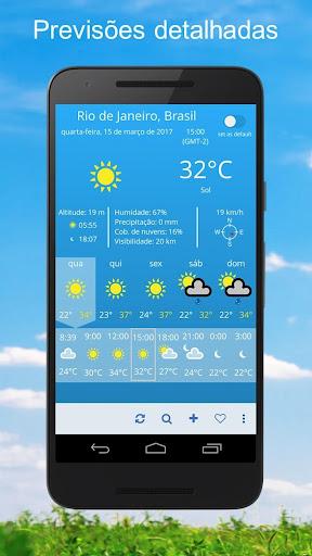 Clima ~ Previsão do tempo screenshot 1