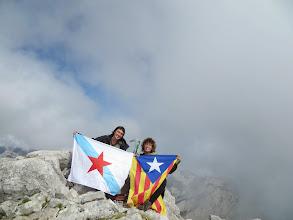 Photo: Torre Bermeja (2.392m), Astúries.  Carme Romagosa (akela LL/D).