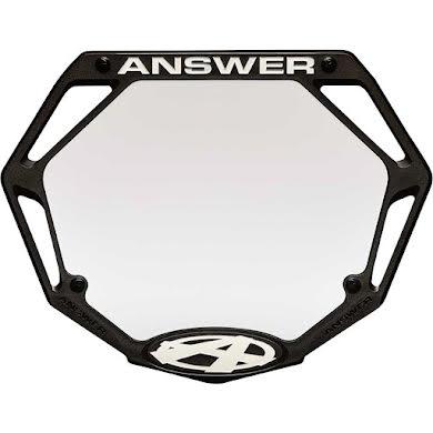 Answer BMX 3D Pro Number Plate