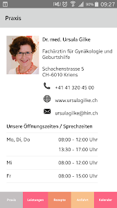 Dr. Ursula Gilke Praxis-App screenshot 0