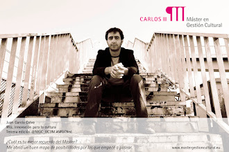 Photo: Juan García Calvo. Wiz ( www.wizconsultancy.com)  innovación para la cultura. Alumno de la tercena edición #MGC3ed.