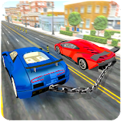 Chained Cars Racing Simulator Challenge
