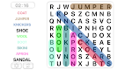 screenshot of Word Search Games in english